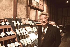 会津電力社長の佐藤さんは、地元で220年以上続く酒蔵の9代目でもある。
