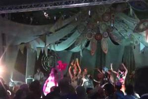 藤野ひかり祭りには5000人が訪れる。年々、規模が大きくなってきている。