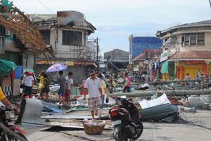 スーパー台風は、世界各地で深刻な被害をもたらしている。